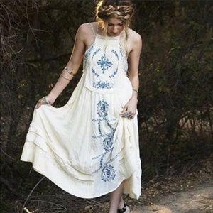 FREE PEOPLE Diamonds in the Sky Boho Dress {Z13}